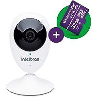 Câmera de Segurança com Cartão de Memoria 32GB, Intelbras, IC3, Branca, Único