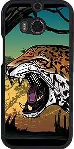 Funda para Htc One M8 - Jaguar by Adamzworld