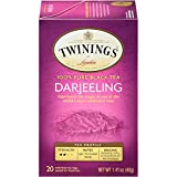 Twinings of London Darjeeling Tea, 20 Count (Pack of 6)