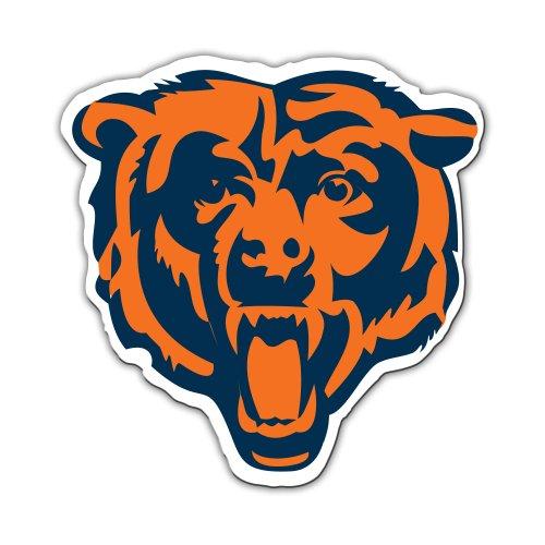 Fremont Die NFL Chicago Bears 12-Inch Vinyl Logo (12 Logo Car Magnet)