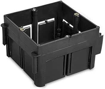 LEDKIA LIGHTING Caja Universal de Empotrar Enlazable 65x65x45 mm ...