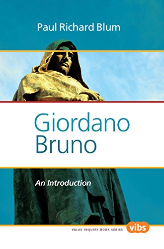 Giordano Bruno: An Introduction (Value Inquiry Book)