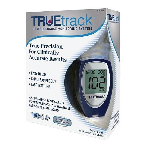 TrueTrack Smart System Blood Glucose Monitoring System-1 ea by Truetrack Smart System