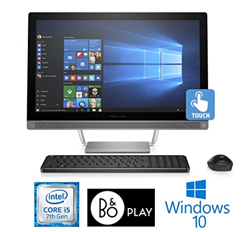 """HP Pavilion 24-b229c, Core i5-7400T 12GB, 23.8"""" Full HD Touch Screen, All-in-One (Certified Refurbished)"""