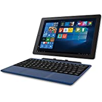 2018 Newest Premium High Performance RCA Cambio 10.1 2-in-1 Touchscreen Tablet PC Intel Quad-Core Processor 2GB RAM 32GB Hard Drive Webcam Wifi Microsoft Office Mobile Bluetooth Windows 10-Blue