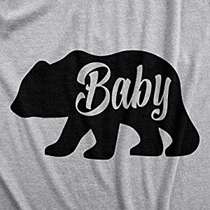 Baby Bear Funny Infant Shirts Cute Boy Girl Newborn Creeper for Family Bodysuit