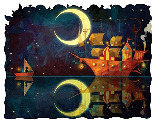 Artifact Puzzles - Nadiezda Night Ship Wooden Jigsaw Puzzle
