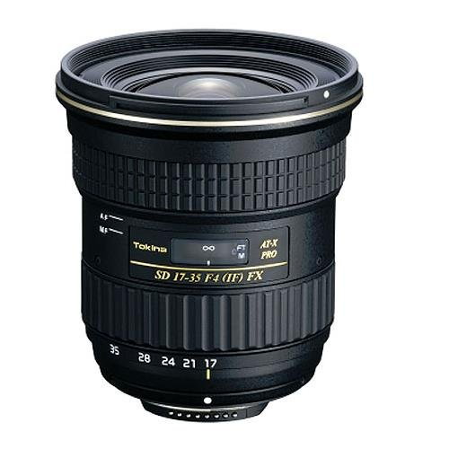 Tokina 17-35mm F/4 at-X Pro fx Lens for Canon (Tokina 17 35mm F4 At X Pro Fx)