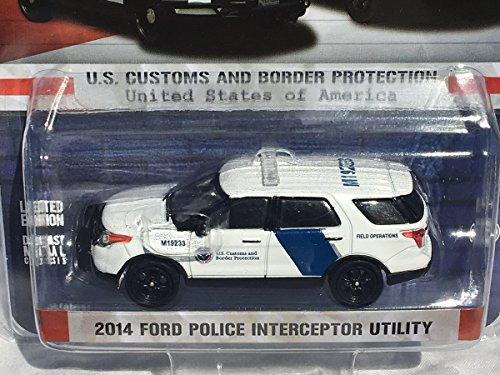 [해외]그린라이트 164 미국 세관 2014 포드 PIU 경찰 SUV - 독점적인 문제! / Greenlight 164 US Customs 2014 Ford PIU Police SUV - EXCLUSIVE ISSUE!