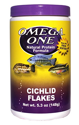 Omega One Cichlid Flakes 5.3oz. by Omega One