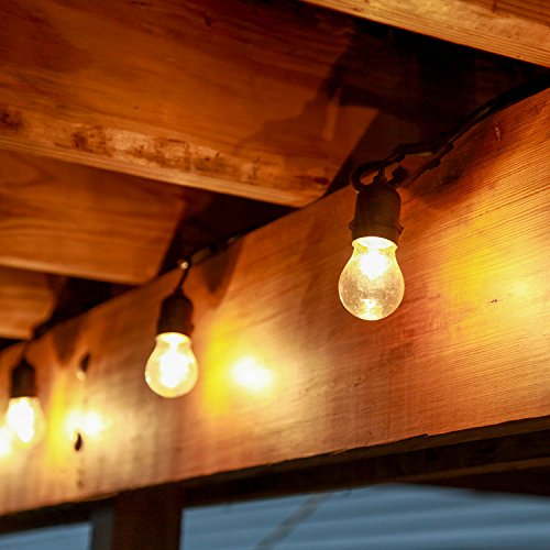 Lamplust Outdoor Patio String Lights Commercial Grade