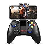 Mobile Game Controller, PowerLead PG8710 Gaming Controller Wireless 4.0 Gamepad Compatible with iOS Android iPhone iPad Samsung Galaxy