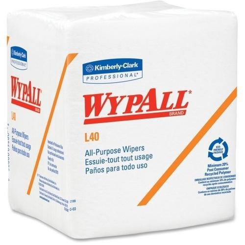 05701PK Wypall L40 General Purpose Wipes - Wipe - 56 - 56 / Pack - White
