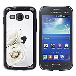 iKiki Tech / Estuche rígido - Roses Art Wedding Theme Flowers - Samsung Galaxy Ace 3 GT-S7270 GT-S7275 GT-S7272