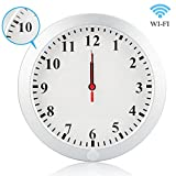 Daretang Upgraded HD 1080P WIFI Wall Clock Camera Real-time Video Remote View on Your Phone Support IOS/Android/PC,Nanny Cam for Home Security with Motion Detection