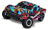 Traxxas Slash 1 10 Scale 2WD Short Course Truck with TQ 2.4GHz Radio and On-Board Audio - Hawaiian