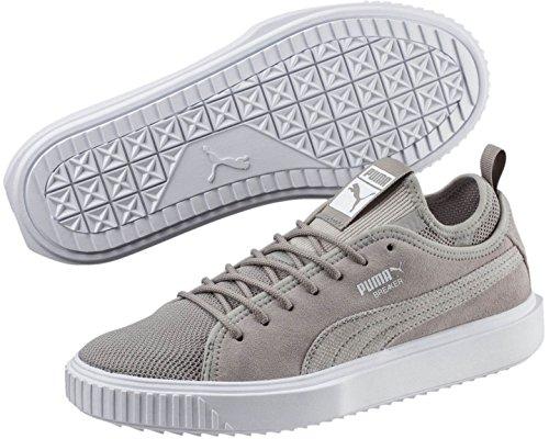 Puma Mænds Breaker Mesh Sneaker Aske / Puma Hvid 5Xw6nX8H