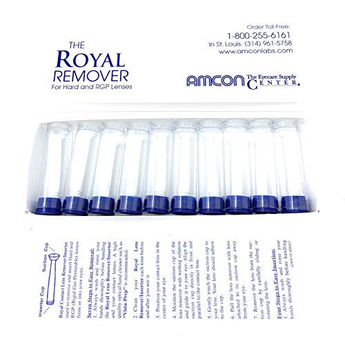 (ROYAL REMOVER Hard/RGP Contact Lens Remover/Inserter 10 Pack)
