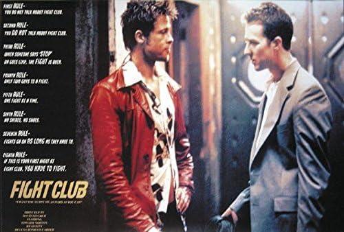 Fight Club T-2943 Art Poster 24x36 27x40
