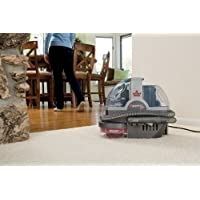 Pet Vacuum Carpet Cleaner Hands Free Cat Dog Animal Fur Stain Spot Removal Portable Vac