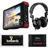Atomos Ninja Flame 7 4K HDMI Recording Monitor Bundle With SanDisk Ultra II 240GB Solid State Drive & Superlux HD-562 Professional Headphone