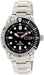 Seiko SRP587 Automatic Black Dial Stailess Steel Divers Prospex Mens Watch