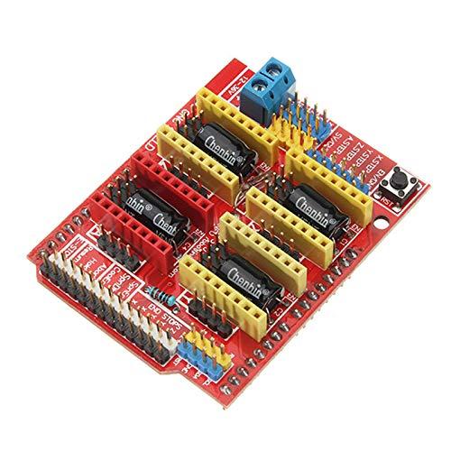 SODIAL CNC Shield V3 Expansion Board + 4xA4988 Step Motor Driver Module + UNO R3 Board kit for Arduino 3D Printer