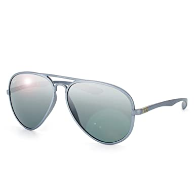16859c1e549 Ray-Ban RB 4180 6017-88 58 Men s Liteforce Gray Lens Gray Frame ...