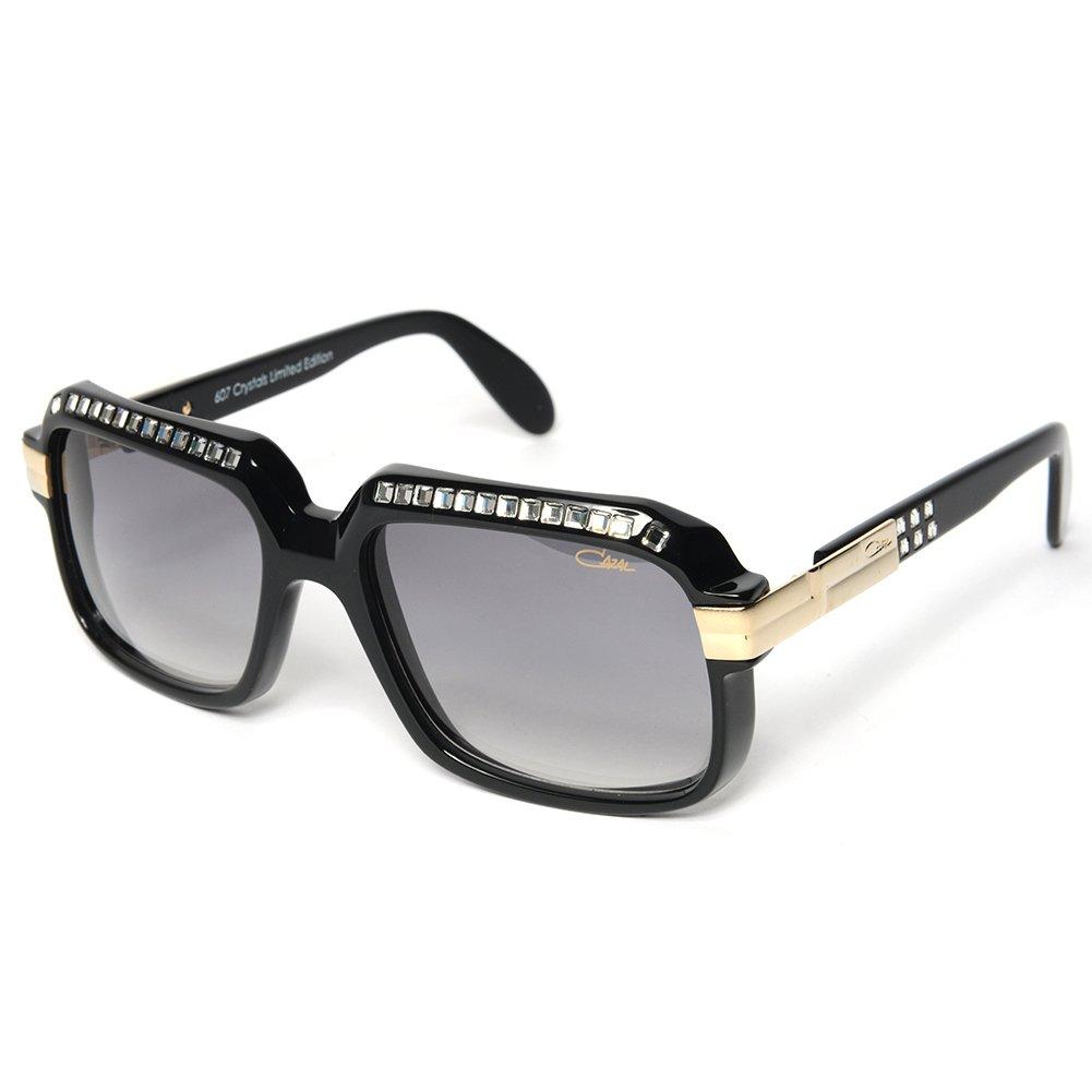 8f5becf557bc Cazal 607 3 Sunglasses 607 Diamond Legend Black (501) Authentic New   Amazon.co.uk  Clothing