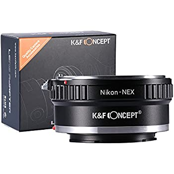 K/&F concepto Nikon G AF-F AIS AI a Sony S NEX Cámara Lente Adaptador KF06.070 E