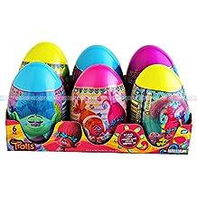 Mega Egg Surprise Trolls 6pc / Mega Huevo Sorpresa Trolls 6pz