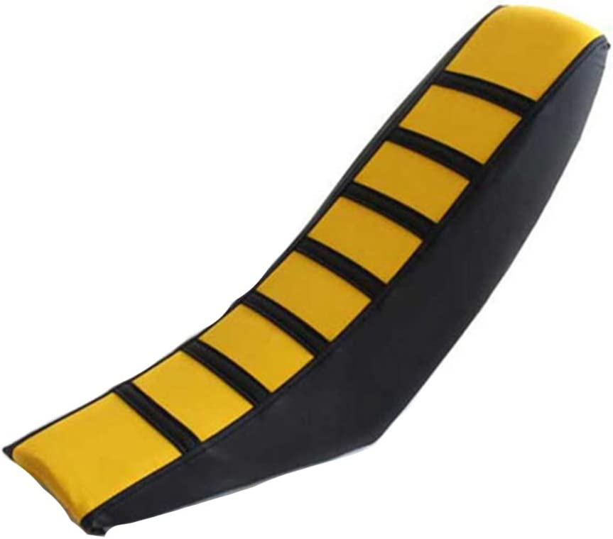 Off Road Universal PVC Soft Pad Durable Gripper Non Slip Striped Dirt Bike Cushion Thick for Yamaha for Honda Motorcycle Seat Cover
