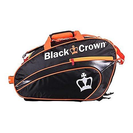 Paletero Black Crown Negro-Naranja: Amazon.es: Deportes y aire libre