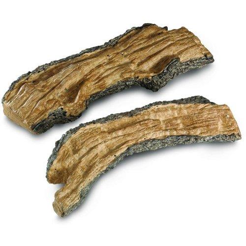 Real Pine Cone - Peterson Gas Logs Decorative Special Split Logs - Set Of 2