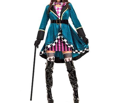Amazon.com: Mitef - Disfraz de magicio para mujer o adulto ...