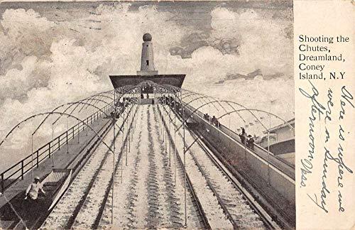 Coney Dreamland Island (Coney Island New York Dreamland Shooting Chutes Antique Postcard K7876639)
