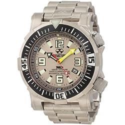 REACTOR Men's 54902 Poseidon Ti Limited 1000M Depth Tested Watch