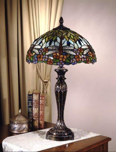 Dale Tiffany TT100588 Lydia Table Lamp, 29 x 17 x 17 , Fieldstone