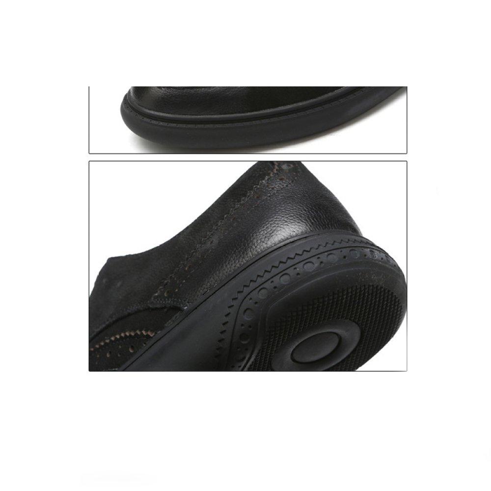 YXIAOL Männer Schuhe Neue Männer Leder Business Casual Freizeitschuhe Schuhe Trend Geschnitzten Herren Freizeitschuhe Casual caramel 1a2dfc