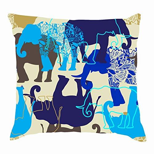 Leopard kiss Print Lipstick Fashion Animals Wildlife Beauty Throw Pillows Covers Accent Home Sofa Cushion Cover Pillowcase Gift Decorative 18x18 -
