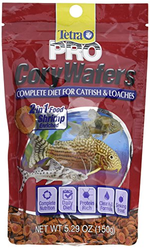 (TetraPRO Cory Wafers, Diet for Catfish & Loaches, 5.29-Ounce)