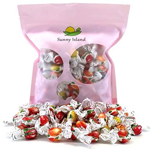 Sunny Island Bulk - Perugina Fruttallegre Capri Natural Fruit Flavored Hard Candy, Italian Hard Candy Assorted Fruit, 2 Pounds Bag ()