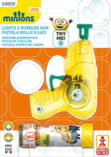 Minions Bubble Gun – Medium - MINION PISTOLA BOLLE (Wholesale Bubble Guns)