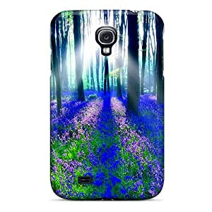 Perfect Bluebell Wood Case Cover Skin For Galaxy S4 Phone Case
