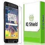 IQ Shield Screen Protector Compatible with OnePlus 5 LiquidSkin Anti-Bubble Clear Film