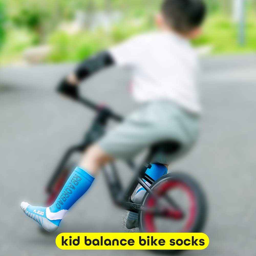 ONEYUAN Children Panda Bear on Bicycle Kid Casual Lightweight Sport Shoes Sneakers Walking Athletic Shoes