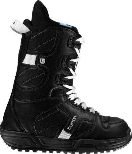 Burton Women's Coco Snowboard Boots Black/White 4