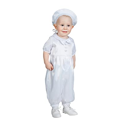 Boutique-Magique Costume baptême bébé garçon blanc ... f1c9f003886