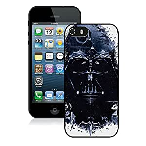 Unique And Durable Designed Case With Star Wars Identity Black For iPhone 5S Phone Case