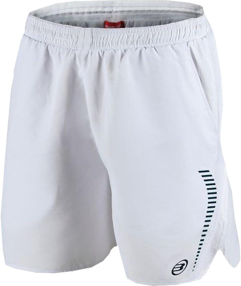 Bull padel Pantalon Corto BULLPADEL DAROCA Blanco: Amazon.es ...